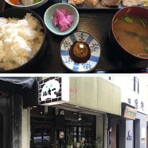 本郷界隈の明治34年創業のお店でランチ、昭和27年創業のお店でコーヒーでした。