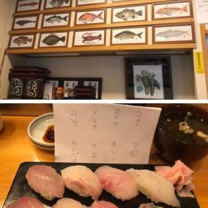 湯河原で噂の地魚寿司を満喫してきました。