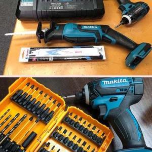 訳あってマキタのバッテリー仕様の電動工具を購入しました。