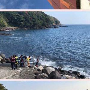 湯河原・福浦漁港でシラスを購入し、ミニ散策を楽しみました。