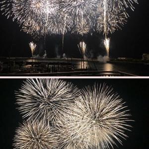 先週末は3連チャンの熱海海上花火大会でした。