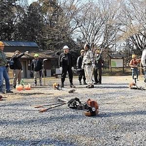 2019年3月17日 滝山城跡景観回復作業 「入っちゃいけない場所を整備したって意味ないじゃん」