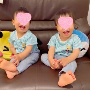 【双子】1歳3ヶ月になった双子の最近。