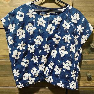 【洋裁】380円で買ったハギレで服は作れるか?と、女の子服。