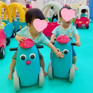 【双子】平日空いてるときに遊ばせる。と、母乳が止まらない件。