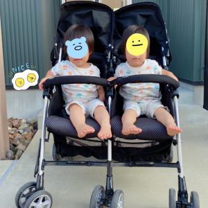 【双子】さらば、双子用ベビーカー。