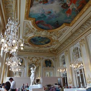 Musée d'Orsay でランチ☆お子様ランチも注文してしまった