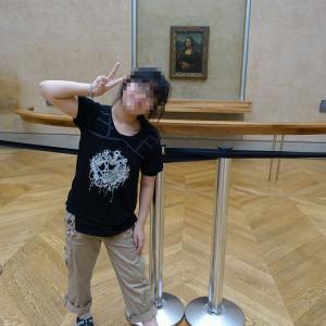 モナ・リザ一番乗りで独占!ルーブル美術館