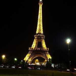 パリのイルミネーションツアーに参加しました