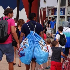 免税申告が出来なかった (T-T) World of Disney@DLP