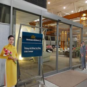 ベトナム航空ロータスラウンジ@ハノイ・ノイバイ国際空港