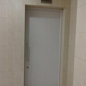 ハノイ・ノイバイ国際空港ロータスラウンジのシャワールーム