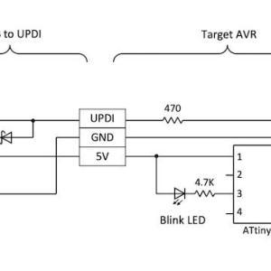 USB to UPDI