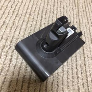 ダイソン掃除機のバッテリー