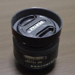 smc PENTAX FA50mm F1.4