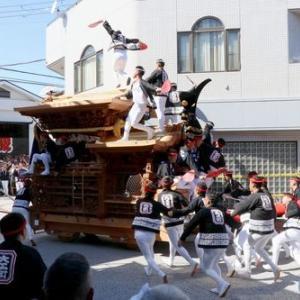 2019年岸和田だんじり祭り試験挽き