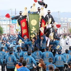 2019年東岸和田だんじり祭り 本宮(午後曳行)