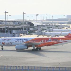 中国東方航空の「人民日報」塗装機