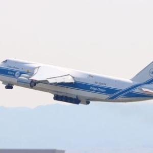 午前中関空へヴォルガ・ドニエブル航空を撮影に