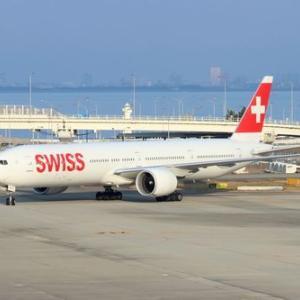 スイス航空関空線、貨物便も運休です。