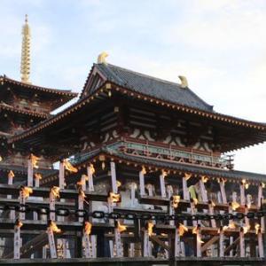 お盆です!四天王寺万灯供養に行ってきました。