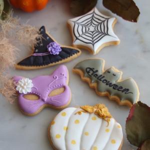 【追加募集】ハロウィンアイシングクッキー1dayレッスン追加日程のご案内