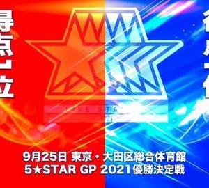 朱里が5★STAR GP制覇!