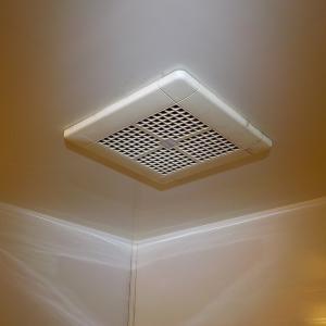 9月5日 2件目 葛飾区 浴室換気扇交換工事 VD-10ZC10