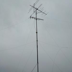10月14日 柏市南逆井 アンテナ撤去