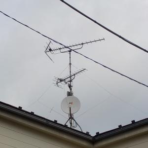 3日 流山市アンテナ修理 BS方向調整