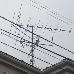 21日 鎌ヶ谷市南鎌ヶ谷 VHFアンテナ撤去工事