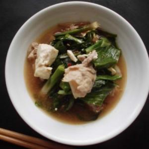 肉豆腐と野生肉の骨