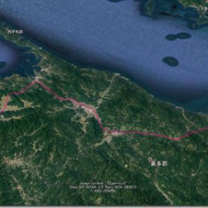 幻のオリンピック4連休 7月25日(1)不安を抱えつつ四国の左下へ