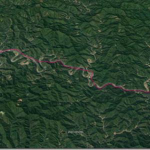 幻のオリンピック4連休 7月25日(4)四万十川に沿って