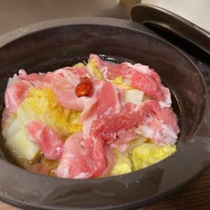 引きこもりクッキング:豚こま白菜漬け鍋
