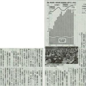 #akahata 世界の流れは庶民増税でなく減税/参院予算委 日本共産党:大門議員が求める・・・今日の赤旗記事