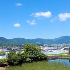 京滋府県境の山々/撮影は数日前、スマホで