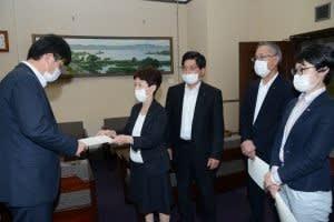国スポ費用を縮小し コロナ対策に予算を・・・日本共産党滋賀県議団