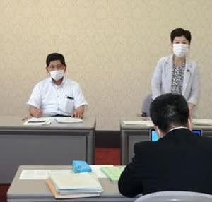 6月17日 PCR検査体制の抜本的強化を要請/日本共産党滋賀県委員会