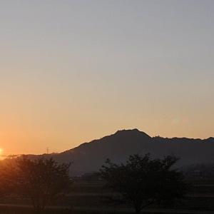 湖南アルプス 堂山と日の出/20200801