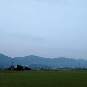 今朝、5時25分ごろの京滋府県境