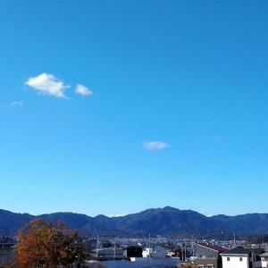 空と雲と京滋府県境