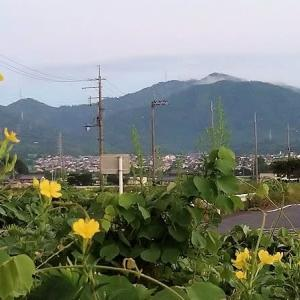 千頭岳/今朝、4時57分に撮影