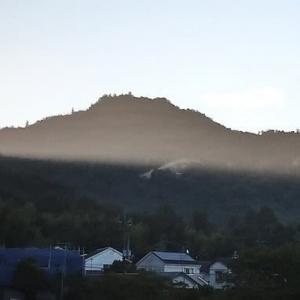 今朝の堂山