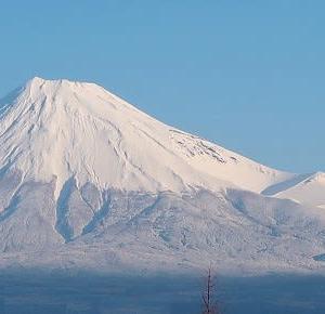 やっと、いつもの富士山です♪