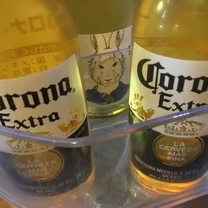 飲む気しなくて放置してた「コロナビール」を飲んで、コロナ撃退だ!