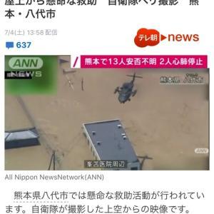 ワン (・x・U) 災害救助のヘリには、ペットは同伴できないの❓
