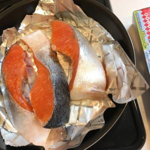 魚焼き用のグリルは使っていません !そこで、フライパン用 「ホイルシート」 の出番です。