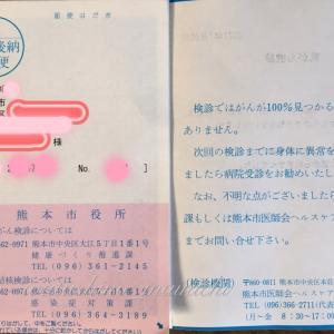 乳がん・子宮がん検診の結果通知書が送られてきました!