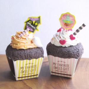 10/19「ハロウィンカップケーキのメモスタンド」@JOYFUL-2ひたちなか店